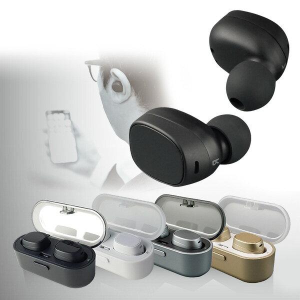 K-POINT 完全ワイヤレスイヤホン 左右分離 AACコーディック対応 高音質 Bluetooth Ver4.2対応専用充電ケース付き フルワイヤレス 左右分離型 ワイヤレスイヤホン スポーツ 【送料無料】【あす楽】