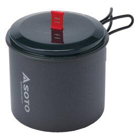 ニューリバーポット SOD-511 調理機器 調理器具 クッカー 鍋 ポット スタッキング キャンプ用品 新富士バーナー(SOTO) 【送料無料】