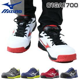 安全靴 オールマイティ 紐タイプ ALMIGHTY LS C1GA1700 プロテクティブスニーカー スニーカータイプ 先芯あり ローカット ミズノ(MIZUNO) 【送料無料】