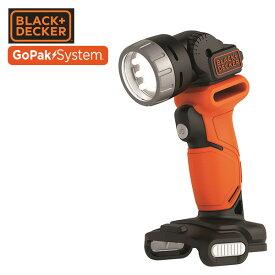 GoPak 10.8V LEDライト (本体のみ) BDCCF12UB LED懐中電灯 ハンディライト ハンドライト 作業用ライト ブラックアンドデッカー(BLACK&DECKER) 【送料無料】