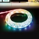 インテリアテープライト スターターキット LEDテープライト 1m RGB 6123051 RAINBOW RGB ledテープライト 間接照明 照…
