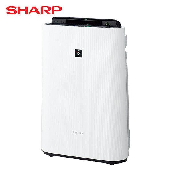 シャープ(SHARP) 加湿空気清浄機 (高濃度プラズマクラスター搭載)/おすすめ畳数13畳まで(空気清浄 23畳)(加湿 木造8.5畳/プレハブ洋室14畳) KC-H50W 加湿空気清浄器 空気清浄機 SHARP シャープ プラズマクラスター 【送料無料】【あす楽】