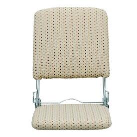 折りたたみ座椅子 YS-424(BE) ベージュ 座椅子 座いす フロアチェア チェア チェアー 椅子 1人掛け ミヤタケ(宮武製作所) 【送料無料】