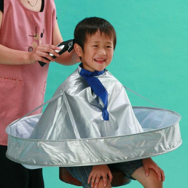 富士商 ヘアキャッチャーW F5300 ケープ クロス 理髪 散髪 【送料無料】