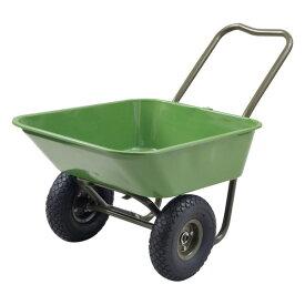マルチガーデン二輪車 HPC-63(GR) グリーン キャリーカート 台車 リヤカー 山善 YAMAZEN ガーデンマスター【送料無料】