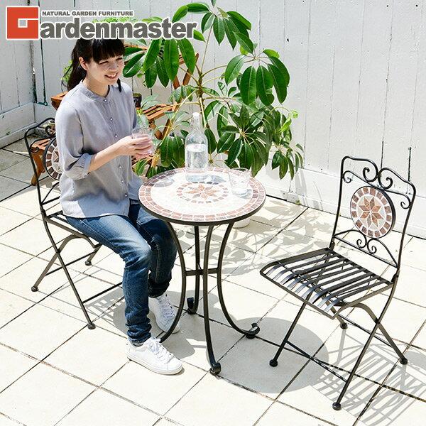 Delicieux Three Points Of Garden Table Set Mosaic Like Folding Set HMTS 50 Mosaic  Table Garden Furniture Set Garden Table Garden Chair YAMAZEN YAMAZEN Garden  ...