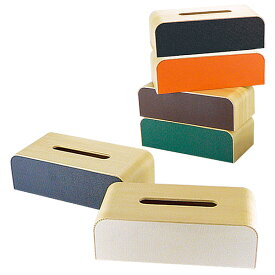 ティッシュケース 【カラーボックス】 YK05-108 ティッシュケース ティッシュカバー ティッシュボックス 木製 インテリア ヤマト工芸 【送料無料】