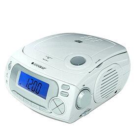 CDクロックラジオ CD-RC118 アラーム 目覚まし CD再生 ラジオ BGM 太知ホールディングス(ANABAS) 【送料無料】