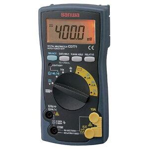 デジタルマルチメータ バックライト搭載 ブリスターパック入 CD771-P 計測 計測機器 テスター SANWA(三和電気計器) 【送料無料】