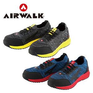安全靴 スニーカー ニットフィット 紐靴 ローカット AW-720/AW-730 プロテクティブスニーカー 作業靴 ローカット JSAA規格B種 AIRWALK エアウォーク 【送料無料】