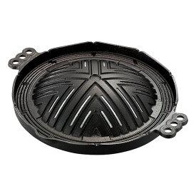 ジンギスカン鍋 穴アキ 29cm 鉄 ジンギスカン鍋 ジンギスカン 鋳鉄 鋳鉄物 29cm 鍋 池永鉄工 【送料無料】