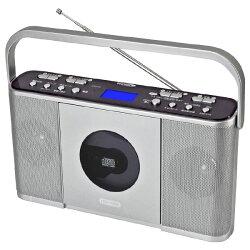クマザキエイム速聴き/遅聴きCDラジオマナビィ(Manavy)AC電源/乾電池2WAYCDR-550SC