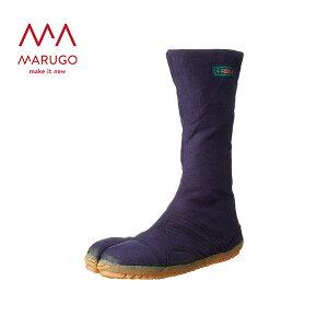足袋 メンズ プロガードジョグ12枚 PGJOG12 78:紺 作業靴 ワーキングシューズ 安全シューズ 足袋 丸五 マルゴ 【送料無料】