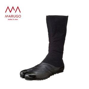 足袋 メンズ 実用12枚 JITSUYO12 09:黒 作業靴 ワーキングシューズ 安全シューズ 足袋 丸五 マルゴ 【送料無料】