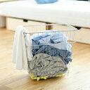 ステンレス ランドリーバスケット 四角 高さ40.5 DK-410128 日本製 オールステンレス ステンレス製 洗濯カゴ 洗濯 か…