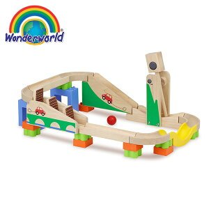Trix Track ブーストアップ トラック(対象年齢3歳から) TYWW7024 赤ちゃん キッズ ベビー おもちゃ 木のおもちゃ 知育玩具 学習玩具 玩具 誕生日 プレゼント クリスマス 3歳 積み木 転がし 木製 wonde