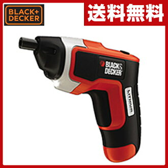 Black&Decker(BLACK&DECKER)3.6V超级市场小型科礼服螺丝刀CP310X-JP电动司机电动训练充电式司机充电司机是小型的