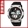 卡西欧(CASIO)体育齿轮(SPORTS GEAR)手表AQ-190W-1AJF速度指示器保鲜纸劈时间间隔计测