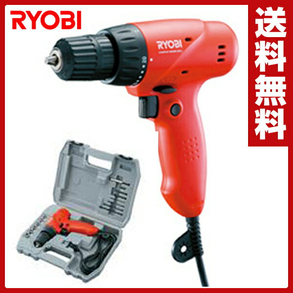 【あす楽】 リョービ(RYOBI) ドライバドリルキット FDD-1010KT 電動ドライバー 電動ドリル 小型 【送料無料】