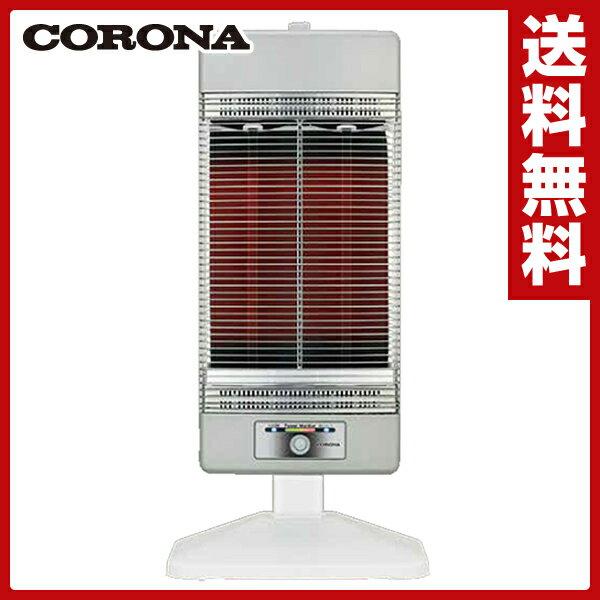 【あす楽】 コロナ(CORONA) 本格遠赤外線電気暖房機 コアヒート (ファミリータイプ) DH-1215R(SS) シャンパンシルバー 遠赤外線ヒーター シーズヒーター 電気ストーブ 電気暖房 【送料無料】