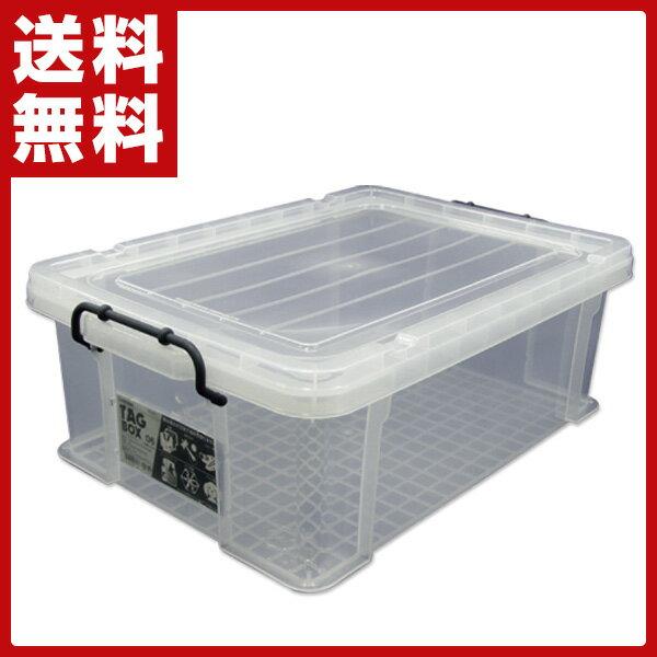 伸和(SHINWA) タッグボックス 収納ボックス 06(N) コンテナボックス 車 トランク 収納 押入れ 押し入れ 頑丈 整理箱 収納箱 【送料無料】
