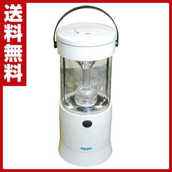 【クーポン配布中 3/19 9:59まで】 日本協能電子 Aqupa アクパ LEDランプ 210 W LP-210W ホワイト LED照明 LED懐中電灯 防災グッズ 電池不要 【送料無料】