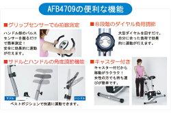 アルインコ(ALINCO)エアロマグネティックバイク4709AFB4709