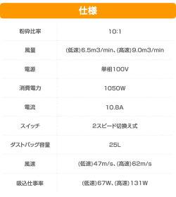 リョービ(RYOBI)ブロワバキューム(専用ワイドノズルセット)RESV-1000&6076035