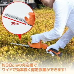 山善(YAMAZEN)10.8V充電式ガーデンポールトリマー高枝ヘッジトリマーLPH-1025
