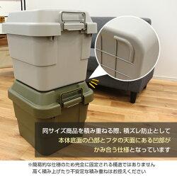 リス(RISU)トランクカーゴ座れる収納ボックス収納ケースコンテナボックスおしゃれ50LTC-50