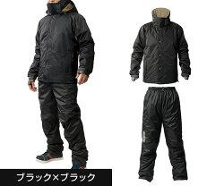 Makkuマック防寒着上下セット防水極寒メンズ釣りAS-3110