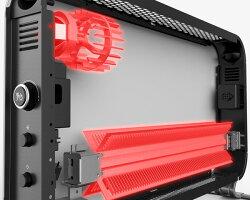 mill(ミル)コンベクションパネルヒーター1000Wタイマー付温度調節機能付YSG-1000LED(W)ホワイト