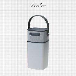 山善YAMAZENLEDランタンライトスピーカーブルートゥースBluetoothモバイルバッテリー防水IPS4QLS-8023ゴールド