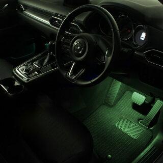 LEDフットライトキット(緑)CX-5(KF系)