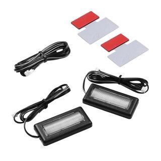 LEDコントロールユニット専用3連フラットLEDセット内容