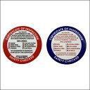 American Inspection Sticker(アメリカン インスペクションステッカー)【SGPADDOCK】
