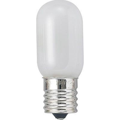 YAZAWA ヤザワ電機ナツメ球管球【T201710W】E17口金カラー:ホワイト 白