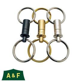 【ただいまポイントUP中】(A&F) キーリリース 真鍮 00800012-S エーアンドエフ