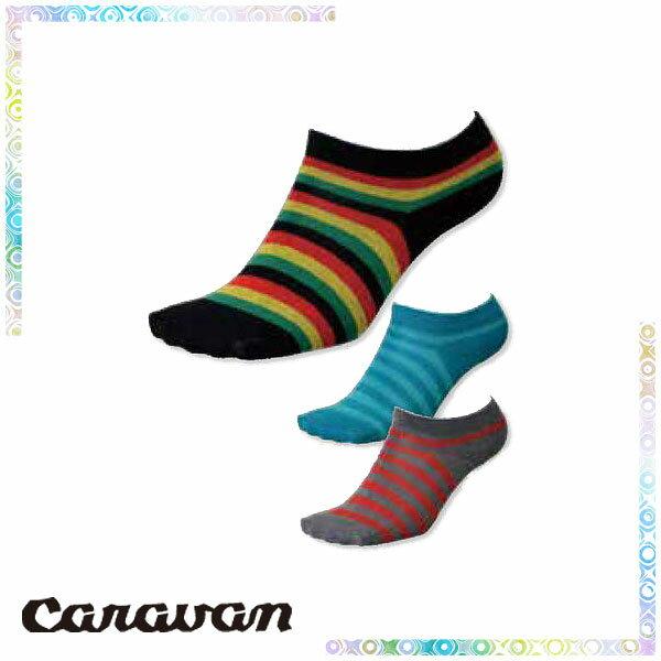 キャラバン(CARAVAN) ロックソックス・ボーダー (靴下 ソックス) 132012