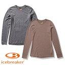 【ポイントUP中】(icebreaker) W 200 オアシス ロングスリーブ クルー (レディース/長袖 Tシャツ) IXW20190 アイスブ…