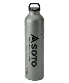 【1/27までP2倍】(SOTO) 広口フューエルボトル 1000ml (ガソリン 燃料ボトル) SOD-700-10 ソト