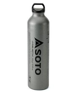 ソト 広口フューエルボトル 1000ml (ガソリン 燃料ボトル) SOD-700-10