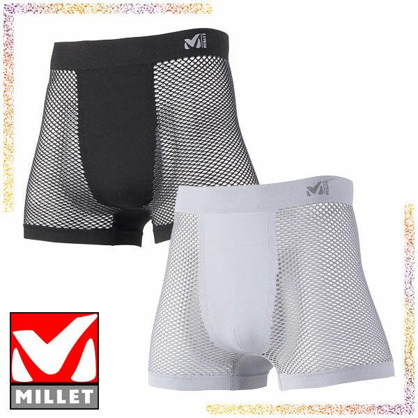 ミレー(MILLET) ドライナミック メッシュ ボクサーショーツ (メンズ/アンダーウェア) MIV01250