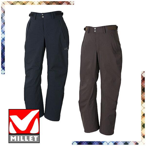 【特価】 ミレー(MILLET) ティフォン 50000 ウォーム ストレッチ パンツ (メンズ/パンツ レインウェア 雨具) MIV01555
