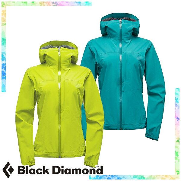 ブラックダイヤモンド(Black Diamond) ウィメンズ ファインライン ストレッチ レインシェル (レディース/ジャケット レインウェア 雨具) BD61020