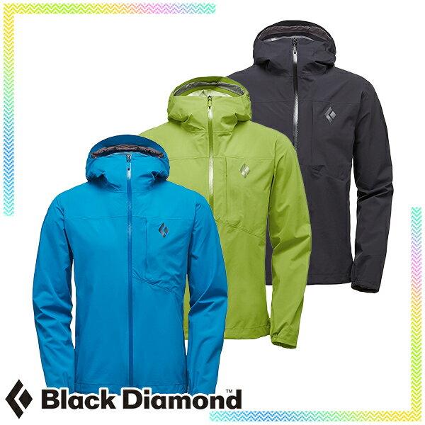 ブラックダイヤモンド(Black Diamond) ファインライン ストレッチ レインシェル (メンズ/ジャケット レインウェア 雨具) BD65010