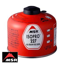 MSR イソプロ 227 (ガスカートリッジ) 36928