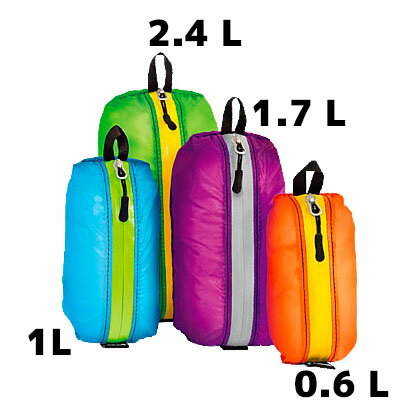 グラナイトギア(GRANITE GEAR) エアジップディティー 2.4L 2個セット (ポーチ) 900155