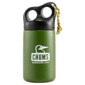 【ポイントUP中】チャムス アウトドア食器・燃料 キャンパーステンレスボトル320 Camper Stainless Bottle 320 CH621409 Olive