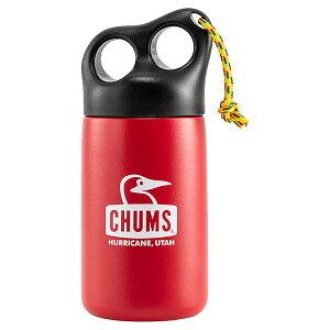 【ポイントUP中】チャムス アウトドア食器・燃料 キャンパーステンレスボトル320 Camper Stainless Bottle 320 CH621409 Red